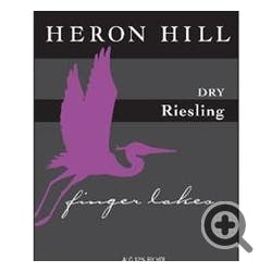 Heron Hill Winery 'Dry' Riesling 2014