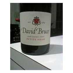 David Bruce 'Central Coast' Petite Sirah 2008 image