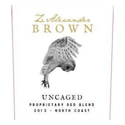 Z. Alexander Brown 'Uncaged' Red Blend 2014 image