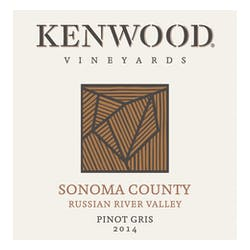 Kenwood Vineyards Pinot Gris 2014 image