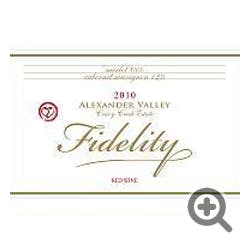 Fidelity 'Crazy Creek Estate' Red Blend 2014