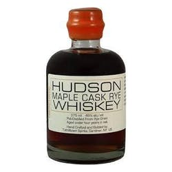 Tuthilltown Spirits Maple Cask Rye 375ml image