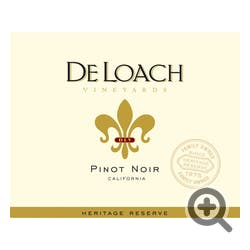 DeLoach 'Heritage Reserve' Pinot Noir 2017