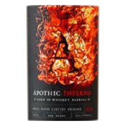 Apothic Wines Limited Release 'Inferno' Red Blend 2014 image