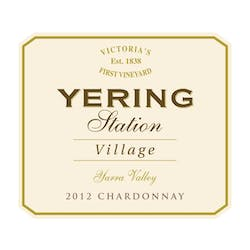 Yering Station Winery 'Village' Chardonnay 2012 image