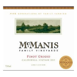 McManis Family Vineyards Pinot Grigio image