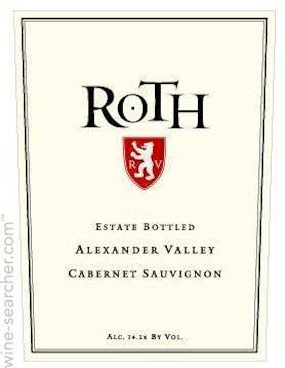 Image result for roth cabernet sauvignon 2014