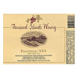 Thousand Islands Winery Frontenac XXX Port 500ml image