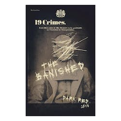 19 Crimes 'The Banished' Dark Red Blend 2016 image