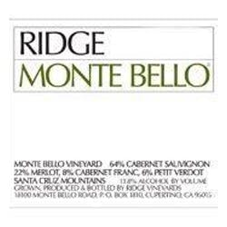 Ridge Vineyards 'Monte Bello' Cabernet Blend 2013 image