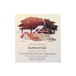 Cascade Mtn Winery 'Summertide' Semi-Dry White image