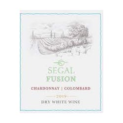 Segal's 'Fusion' White Blend Chard/Colombard 2014