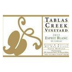Tablas Creek 'Esprit Blanc' Beaucastel Blanc 2012 image