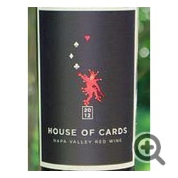 House of Cards Red Blend 2012