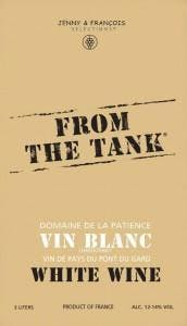 From The Tank 'Patience' Vin Blanc 3.0L