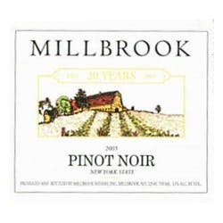 Millbrook Winery Pinot Noir 2015 image