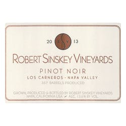 Robert Sinskey Vineyards Pinot Noir 2013 image