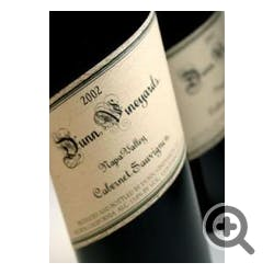 Dunn Vineyards Cabernet Sauvignon 2001