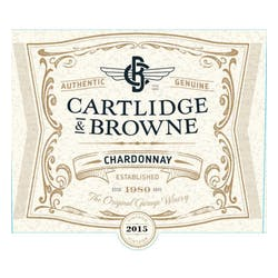 Cartlidge & Browne Chardonnay 2017 image
