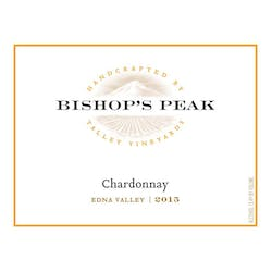 Bishop's Peak Chardonnay 2015 image