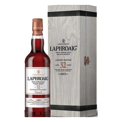 Laphroaig 32yr Islay 750ml 93.4Prf Single Malt image