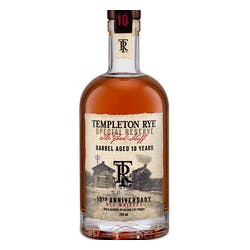 Templeton 'Rye' 750ml 101prf 10yr Collector's Edition image