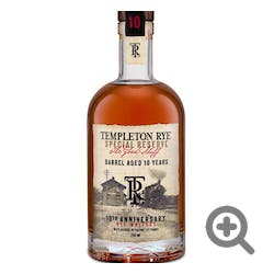 Templeton 'Rye' 750ml 101prf 10yr Collector's Edition