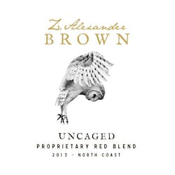 Z. Alexander Brown 'Uncaged' Red Blend 2015 image