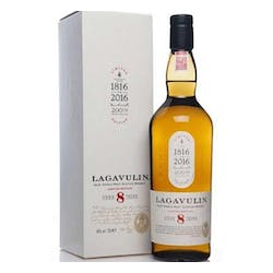 Lagavulin 8year 96Proof Single Malt Scotch 750ml image