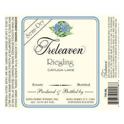 Treleaven by King Ferry Winery Semi Dry Riesling 2014 image