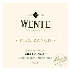 Wente Vineyards 'Riva Ranch' Reserve Chardonnay 2015 image
