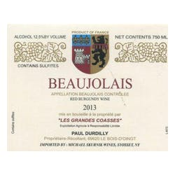 Paul Durdilly Beaujolais Gamay 2015 image