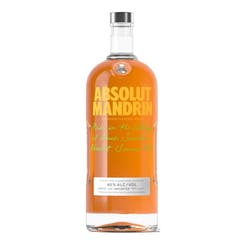 Absolut 'Mandrin' Vodka 80Proof 1.75L image