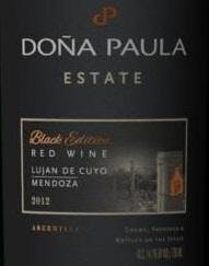 Dona Paula Estate 'Black Edition' Red 2014