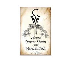 Capoccia Vineyards & Winery Marechal Foch 2015 image