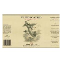 Vindicated Cabernet Sauvignon 2015 image