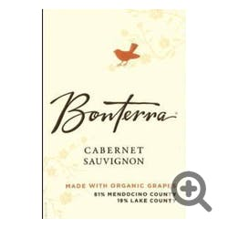 Bonterra Organically Grown Cabernet Sauvignon 2015