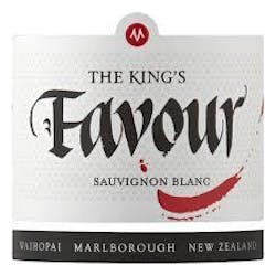 Marisco Vineyards 'The Kings Favour' Sauvignon Blanc 2015 image