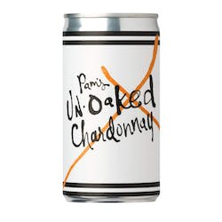 Pam's Un-Oaked Chardonnay Cans 187ml image