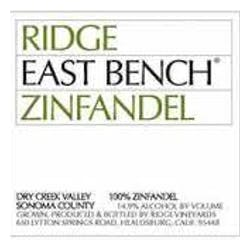 Ridge Vineyards 'East Bench' Zinfandel 2015 image