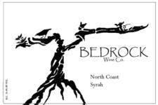 Bedrock Wine Co. 'North Coast' Syrah 2015