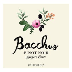 Bacchus Cellars Gingers Cuvee Pinot Noir 2015 image