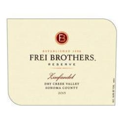 Frei Brothers Reserve Zinfandel 2015 image