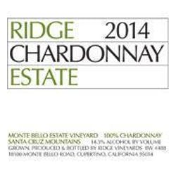 Ridge Vineyards 'Estate' Chardonnay 2015 image