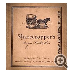 Owen Roe Sharecropper's Pinot Noir 2015