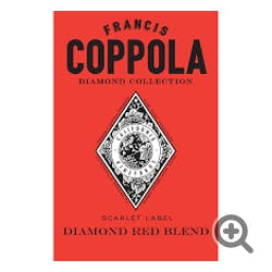 Francis Ford Coppola 'Scarlet Label' Diamond Red Blend 2015