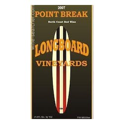 Longboard Vineyards 'Point Break' Red Blend 2014 image
