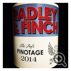Radley & Finch 'The Prof's' Pinotage 2019