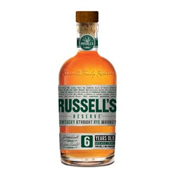 Russell's Reserve 6 Year Rye 90prf image