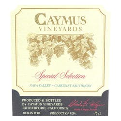 Caymus Vineyards Special Selection Cabernet Sauv 2014 image